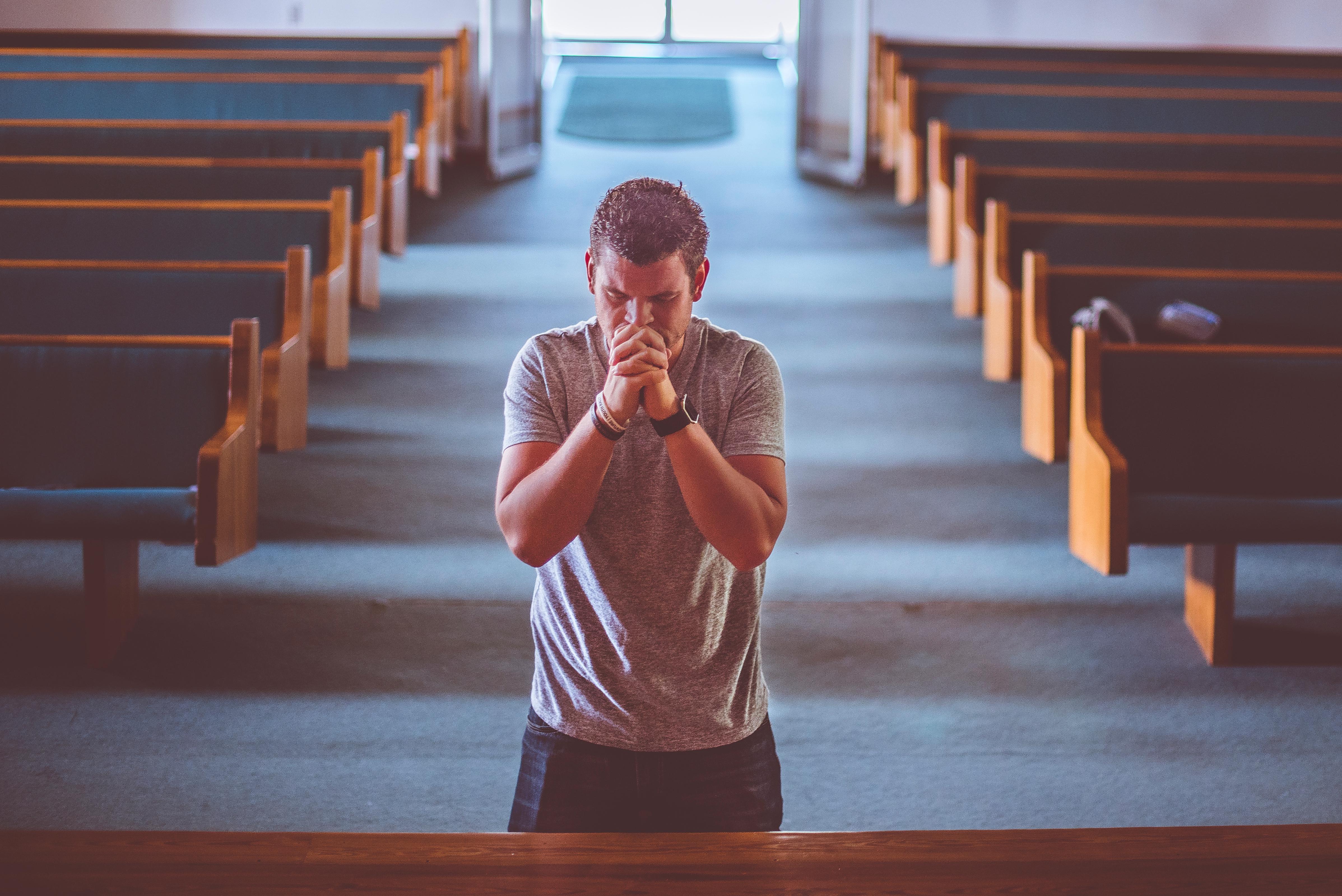 church offering prayer - HD4550×3038