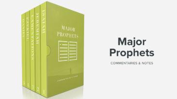 Bible Book Commentaries – Major Prophets