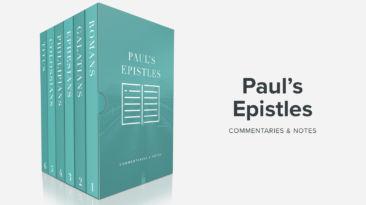 Bible Book Commentaries – The Pauline Epistles, Vol. 1