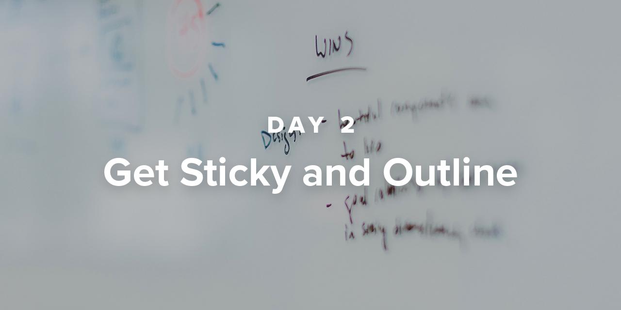 Sermon Writing Plan Day 2