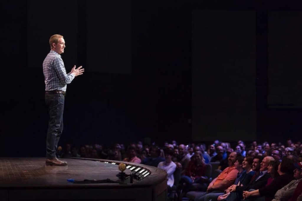 Voices of well known preachers-Andy Stanley