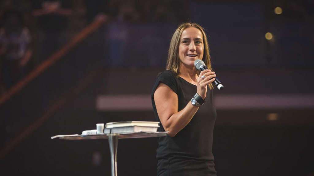 Voices of well known preachers-Christine Caine