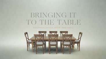 Bringing It To The Table